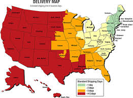 Punctilious Ups Delivery Time Chart 2019