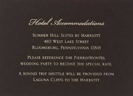 how to word hotel accommodations for wedding invitations hotel info card may 9th wedding wedding invitations