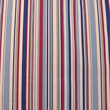 Curtain Fabric Marson Imports Funky Stripes Red Blue Curtain Fabric Closs Hamblin