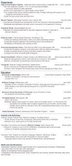 Online Resume For English Teachers Sales Teacher Lewesmr