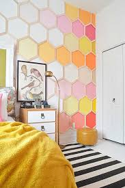 geometric wall paintTop 10 Geometric Wall Paint  Confettidea