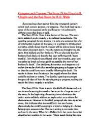 compare and contrast the story of an hour by k chopin and the red page 1 zoom in