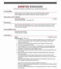 Chef Cv Template Eye Grabbing Chef Resumes Samples Livecareer