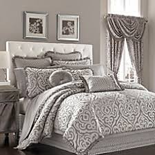 Superb J. Queen New York™ Luxembourg Comforter Set In Antique Silver