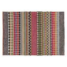 bloomsbury large geometric wool rug 170 x 240cm