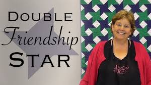 The Double Friendship Star: Easy Quilting with Jelly Rolls! - YouTube &  Adamdwight.com