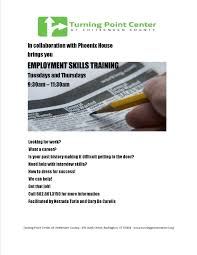 Skills For Employment Employment Skills Training Available At The Turning Point Center Of Vt