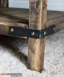 how to build rustic furniture. DIY Simple Square Bedside Table Plans - Rogue Engineer How To Build Rustic Furniture I