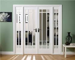 interior french doors glass panels