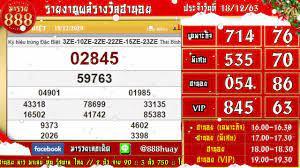 ถ่ายทอดสดผลรางวัลฮานอย(เฉพาะกิจ พิเศษ ปกติ VIP) งวดวันที่ 18 ธันวาคม 2563  ตรวจผลรางวัลฮานอย วันนี้ - YouTube