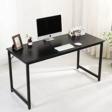 office desk workstation. Soges Computer Desk Office Writing Workstation, Wood, Black 55\u0026quot;, Workstation
