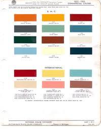 Coral Paint Color Chart Chart Chevrolet Truck Paint Color Chart