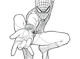 Coloring Pages Of The Amazing Spider Man Newshow Info Chronicles