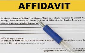 Affidavit Statement Of Facts Gorgeous What Is The Difference Between An Affidavit And An Oath