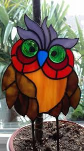 Stained Glass Owl Patterns