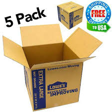 lowes moving supplies. Lowes Moving Supplies Extra X Large Cardboard Boxes Storage Shipping Mail . S