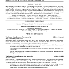 Free Teacher Resume Templates Elementary Teacher Resume Template Teacher Resume Sample Sample 41