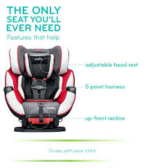 evenflo dlx convertible car seat car seat all in one symphony feature car seat evenflo sureride evenflo dlx convertible