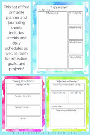 Daily Planner Printables Personal Planner For Creatives 10 Gorgeous Pages Of Free