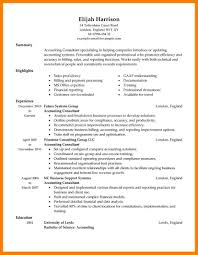 12 Financial Resume Templates Xavierax