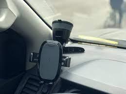 Bản Tự Động] Giá đỡ điện thoại kèm sạc không dây trên ô tô RAVPower SH014  thương hiệu Mỹ