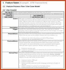 Free Case Template 5 6 Use Case Documentation Examples Resumetem