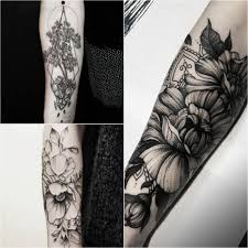 татуировки фото женские на плече