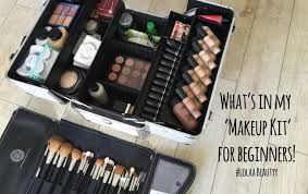 starting to freelance my beginners makeup kit lolaa beautyy you