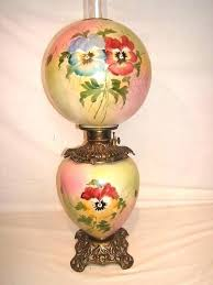 hurricane lamp antique hand painted lamps enchanting vintage old for candles weddi old hurricane lamps