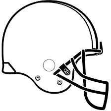 Football Helmet Outline Clipart 20 Free Cliparts Download