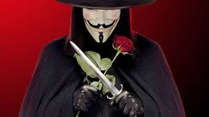 Image result for v for vendetta, red rose