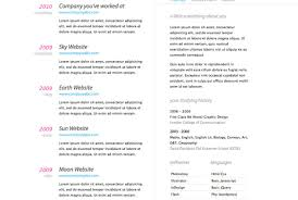 Good Resume Layout Example Resume Outline For High School Students
