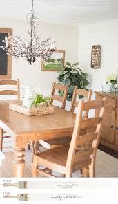 dining room new england farmhouse neutral paint color