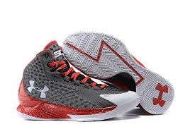 under armour basketball shoes stephen curry white. men\u0027s under armour ua stephen curry one mid basketball shoes grey/red/white white a