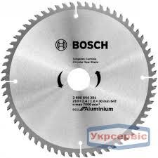 Купить <b>пильный диск Bosch</b> Eco for Aluminium <b>210х30мм</b> Z64 в ...