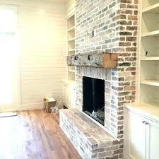 red brick fireplace white walls brick fireplace mantel decor brick mantel fireplace white brick fireplace mantel