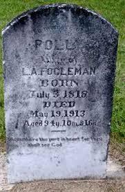 Polly Garrett Fogleman (1818-1913) - Find A Grave Memorial