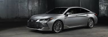 2019 Toyota Color Chart 2019 Toyota Avalon Color Options