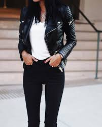 best 25 black leather jackets ideas on girls black black leather jacket outfits