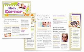 Microsoft Publisher Free Template Luxury Kindergarten