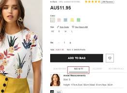 How To Choose Your Size Shein Australia