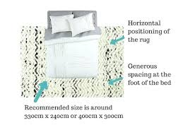 what size rug for king bed rug under queen bed what what size rug fits under
