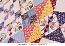 Patchwork Quilt Part Patchwork Quilt Background Stock Photo ... & Patchwork quilt. Part of patchwork quilt as background. Flower print. Color  blanket in Adamdwight.com
