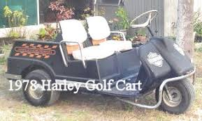 1978 harley golf cart best deal in these parts for sure 1978 harley davidson golf cart three wheel gas motor