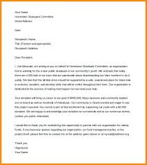 Contribution Letter Donation Letter Samples Business Template 9 Templates Free