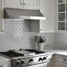 Light Gray Subway Tile Kitchen