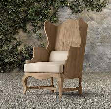restoration outdoor furniture. The STUNNING \u0026 Brilliantly Designed 18th Century Teak Wing Back Chairs By RESTORATION HARDWARE Restoration Outdoor Furniture