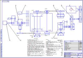 Кинематическая схема агрегат капитального ремонта скважин iri  Кинематическая схема агрегат капитального ремонта скважин iri 125 Чертеж Оборудование для бурения нефтяных