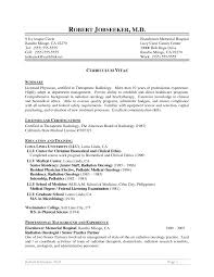 Radiologist Resume Sample Radiologist Resume Template and CV Sample Vinodomia 1