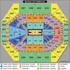 Bankers Life Fieldhouse Virtual Seating Chart Bankers Life Fieldhouse Seating Chart